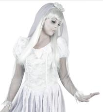 Halloween mariée
