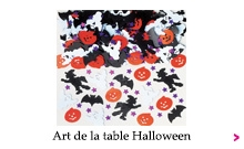Art de la table Halloween