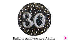 Ballons Anniversaire Adulte