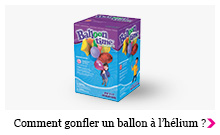 Comment gonfler un ballon à l'hélium ?