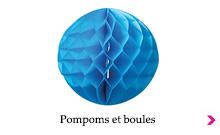 Pompoms et boules