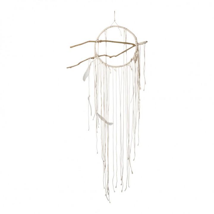 Attrape-Rêves bois+ficelle 25 cm x 1 m