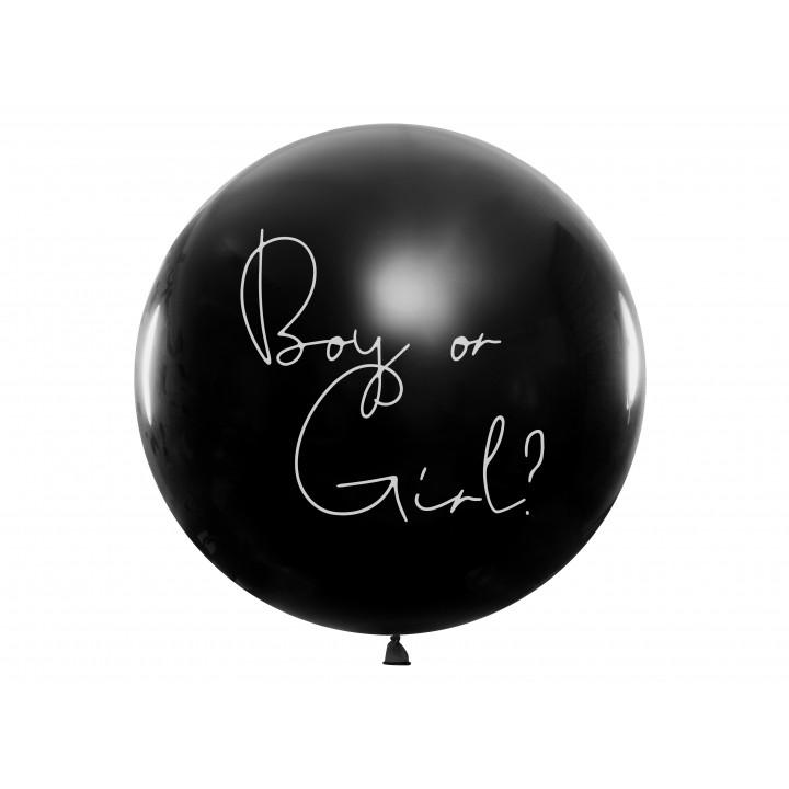Ballon Gender Reveal fille latex 1m