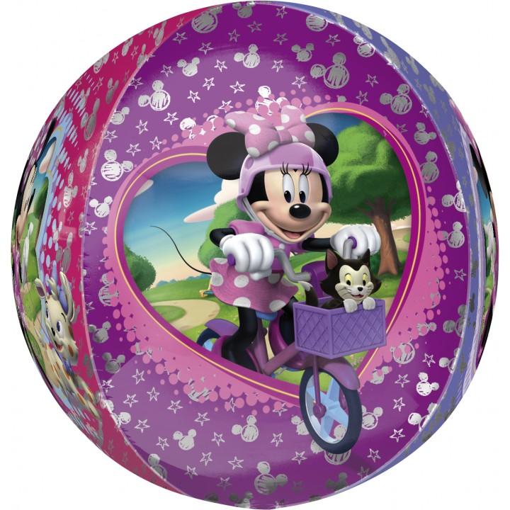 Ballon 3D Minnie boule ORBZ aluminium