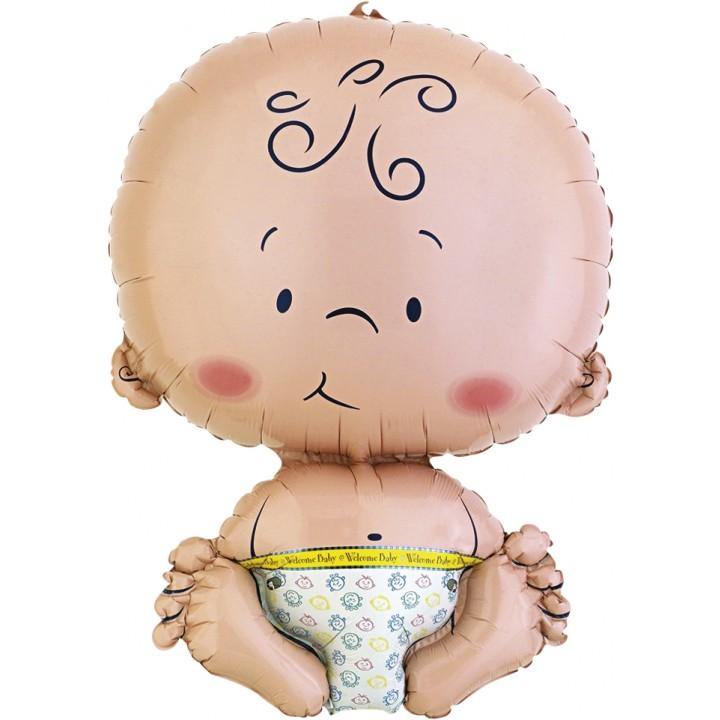 Ballon Bienvenue bébé 41 x 56 cm