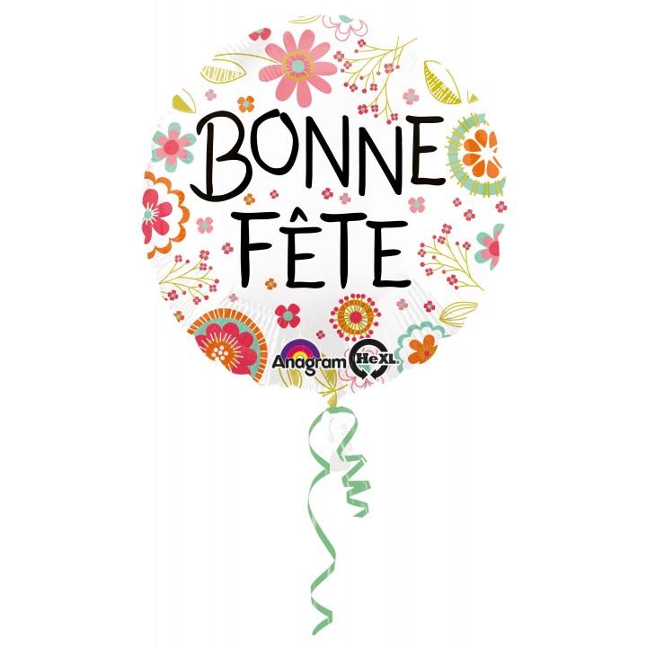 Ballon Bonne Fête 43 cm