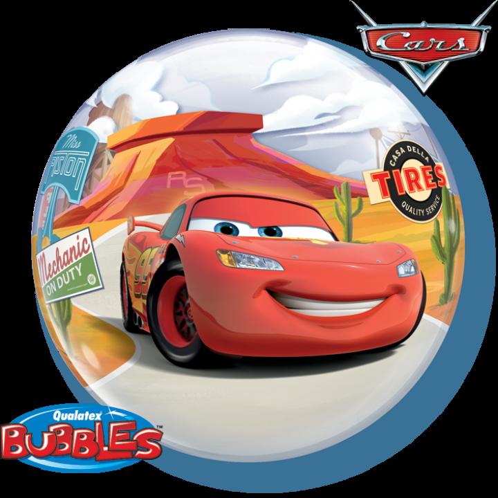 Ballon Bubble Cars 55 cm