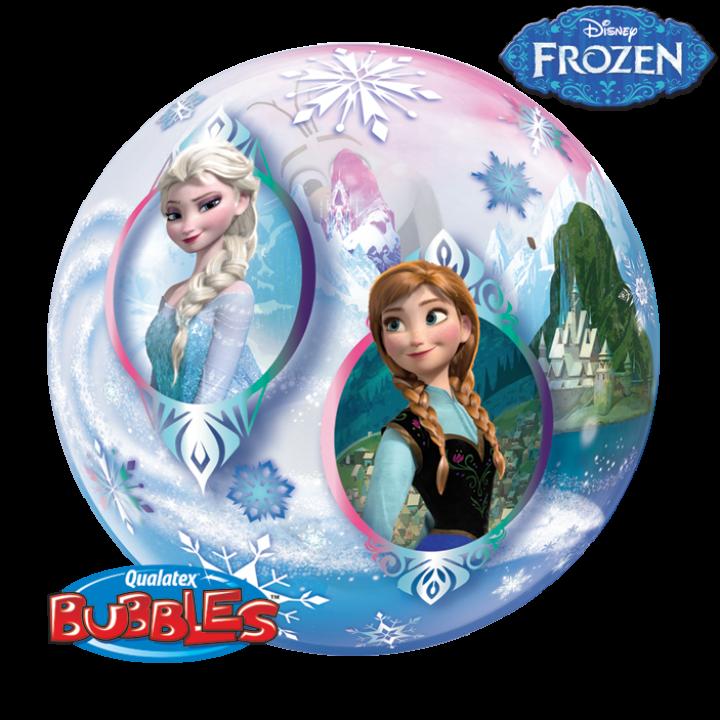 Ballon Bubble Reine des Neiges