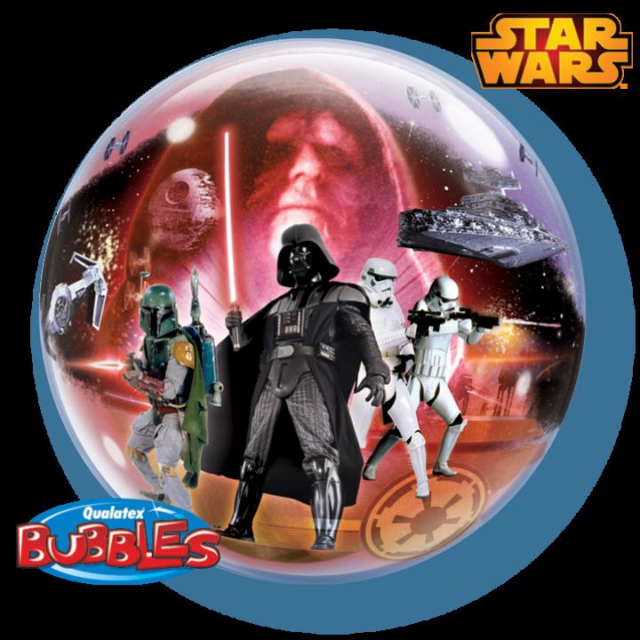Ballon Bubble Star Wars 55 cm