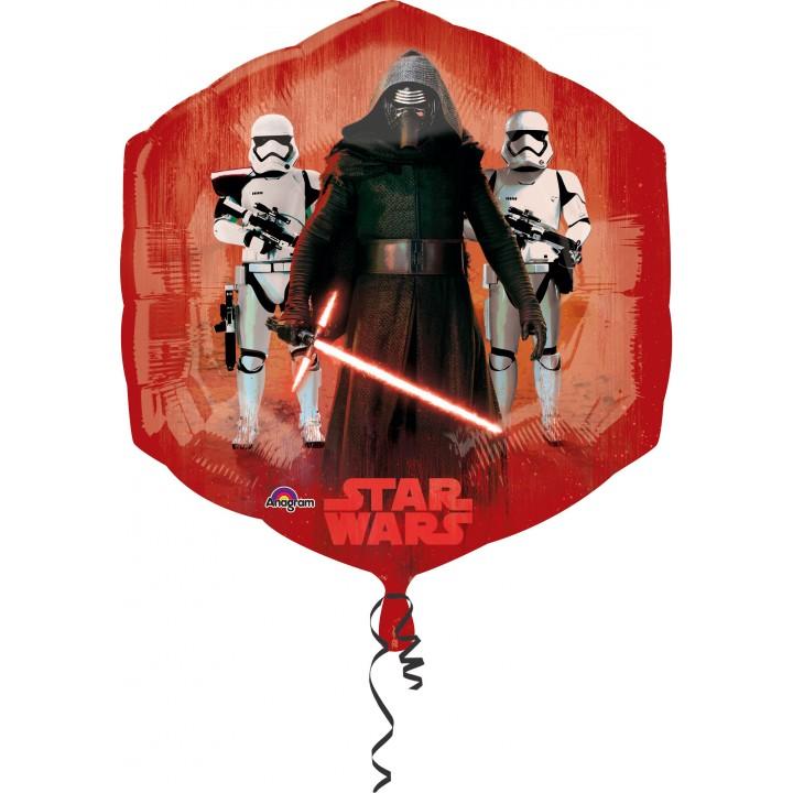 Ballon le Réveil de la Force Etoile 55 x 58 cm