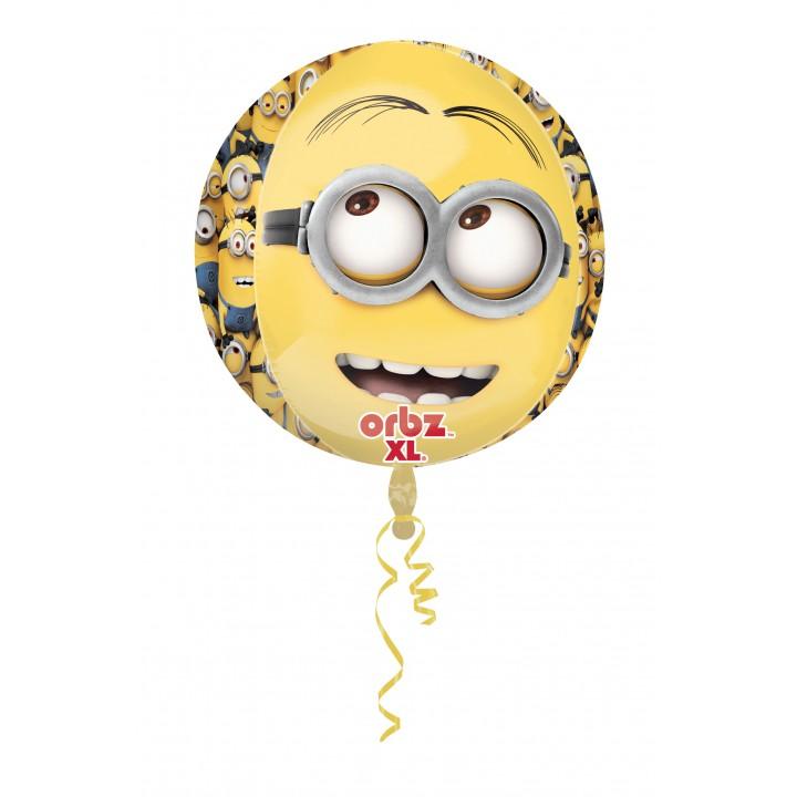 Ballon Minions ORBZ 38 x 40 cm