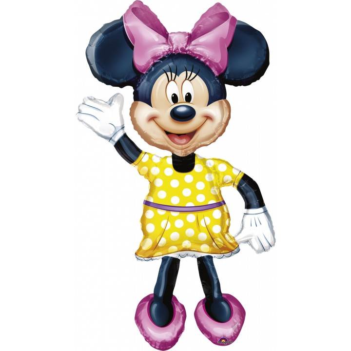 Ballon Minnie Airwalkers