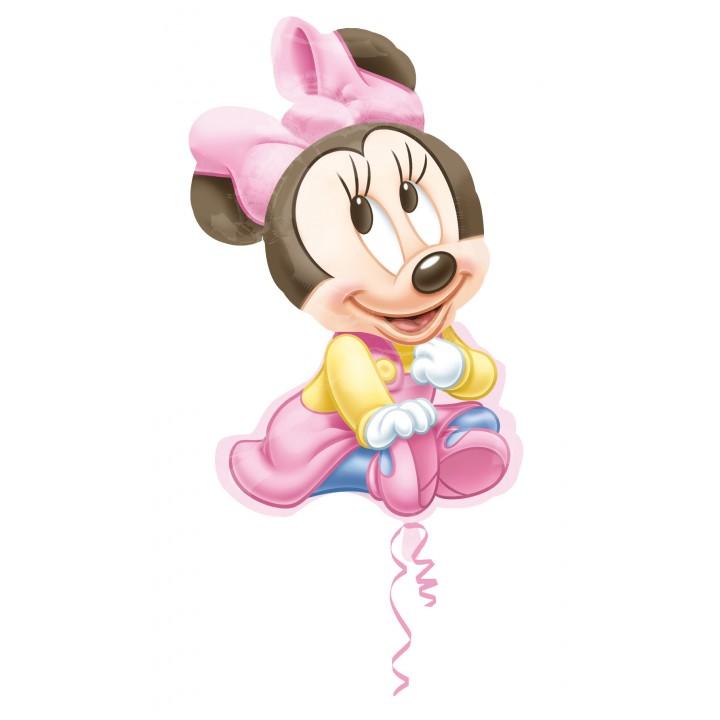 Ballon Minnie baby girl 51 x 84 cm