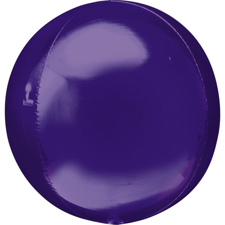 Ballon Violet ORBZ 38 x 40 cm