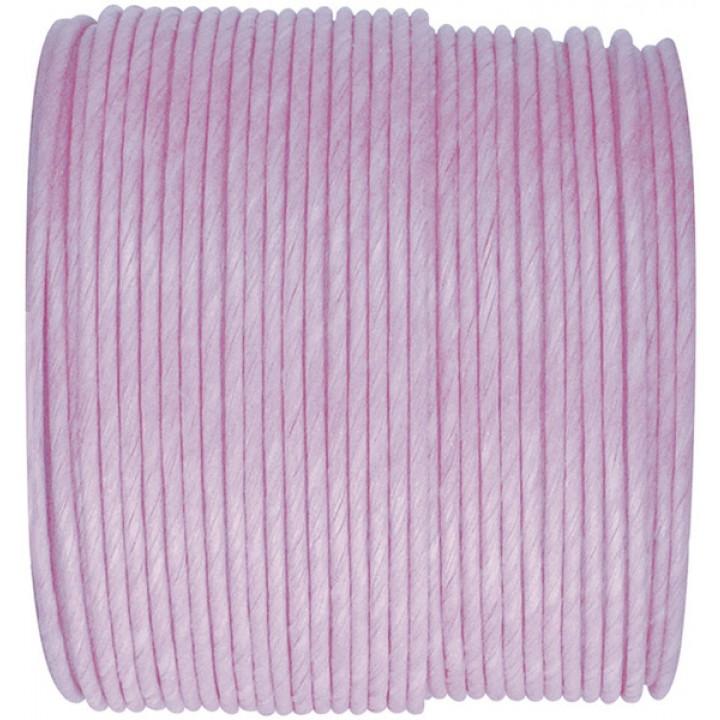 Bobine de cordon laitonné papier lavande
