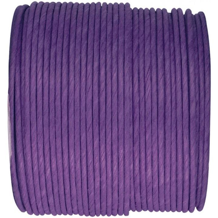 Bobine de cordon laitonné papier violet