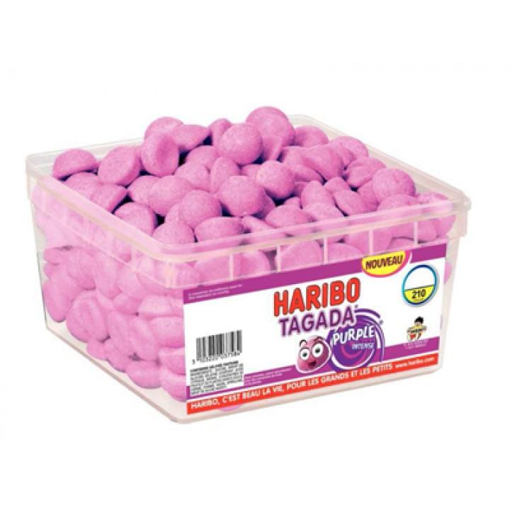 Boîte de bonbons Tagada  Purple Haribo