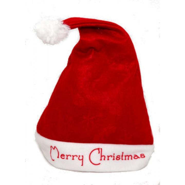 Bonnet de père Noël Merry Christmas