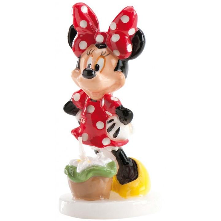 Bougie Minnie 9 cm