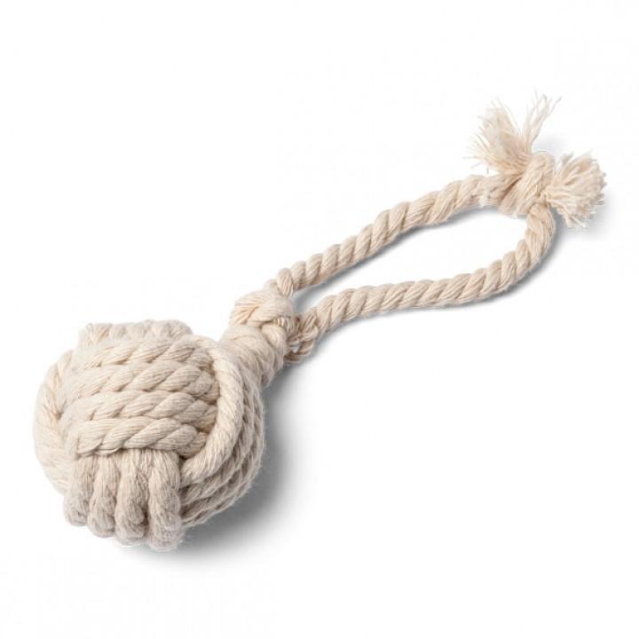 Boule corde ivoire 5 cm