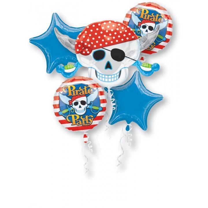 Bouquet de ballons Pirate anniversaire