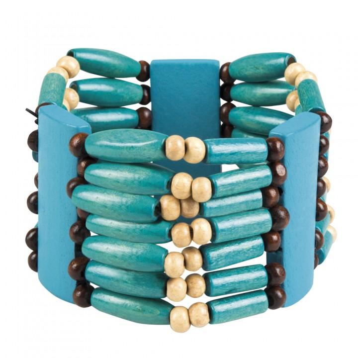 Bracelet indienne Squaw en perles