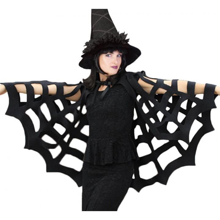Image Araignée Halloween cape araignée halloween noire