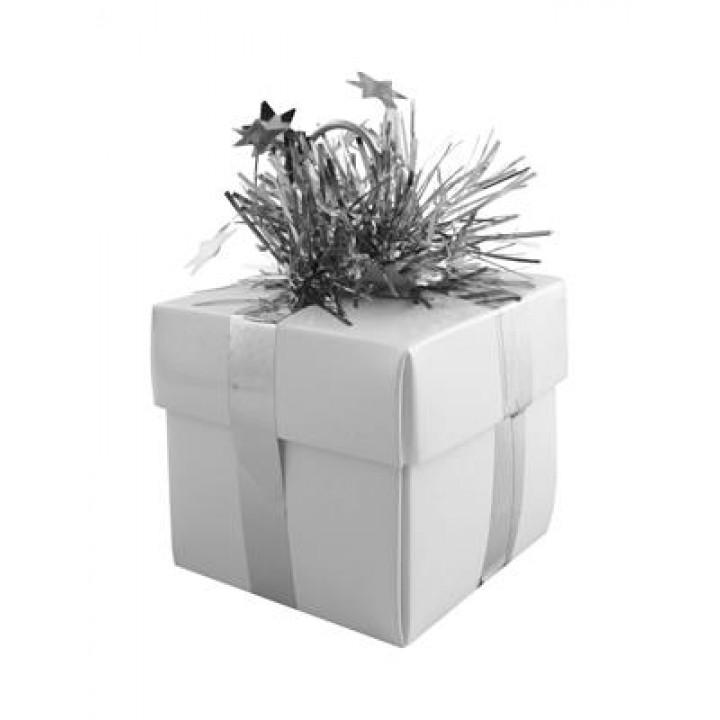 Contrepoids Cadeau argent pailleté