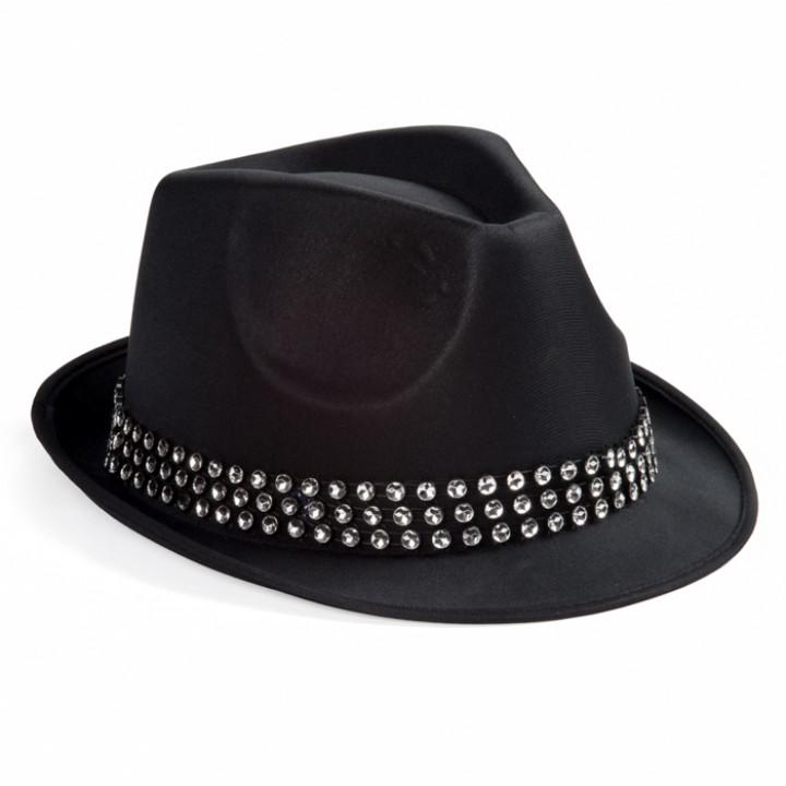 Chapeau Diamands noir
