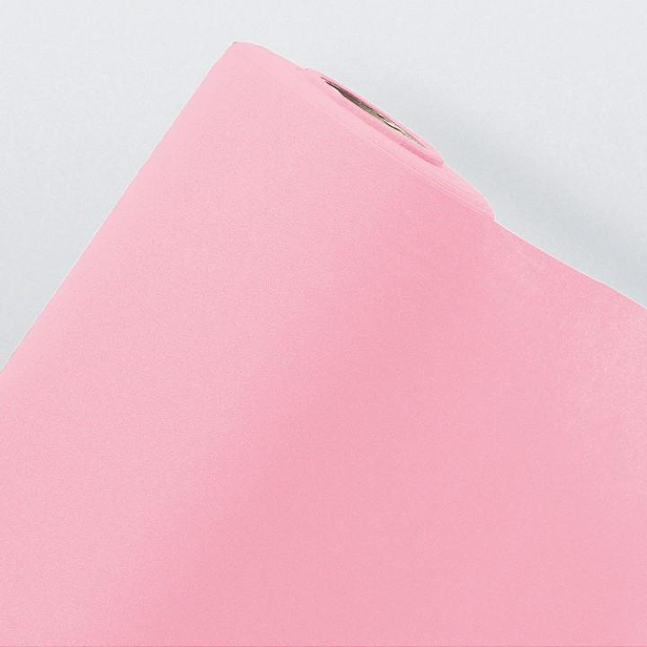 Chemin de table rose en voie sèche10 m x 40 cm