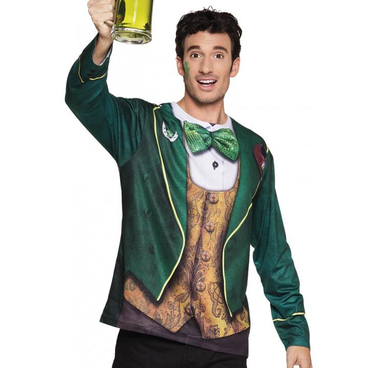 Chemise photoréaliste St Patrick homme