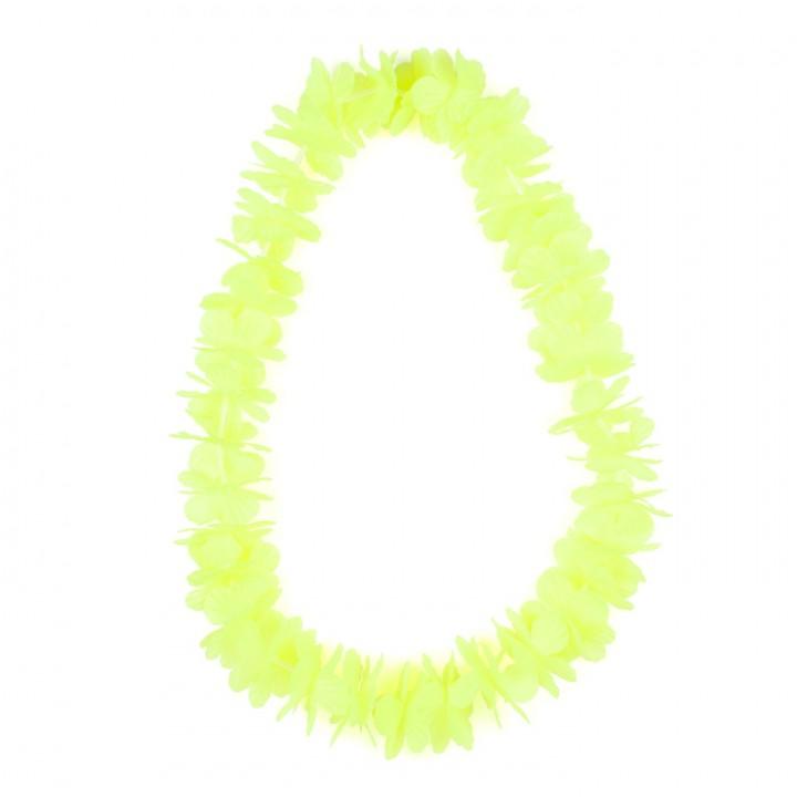 Collier hawai jaune