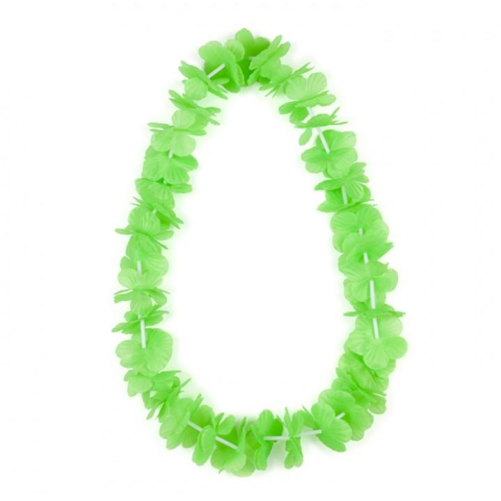 Collier hawai vert