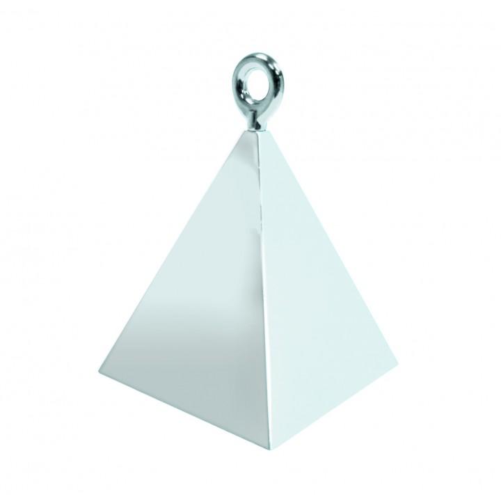 Contrepoids Pyramide argent 50 g