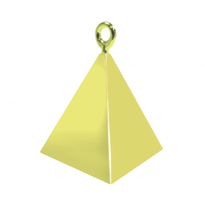 Contrepoids Pyramide or 50 g