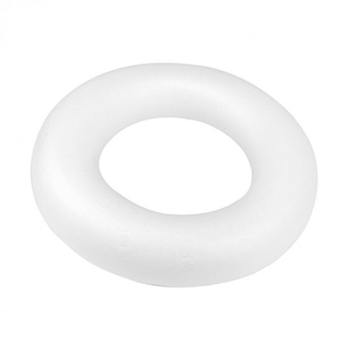 Couronne polystyrène D 30 cm