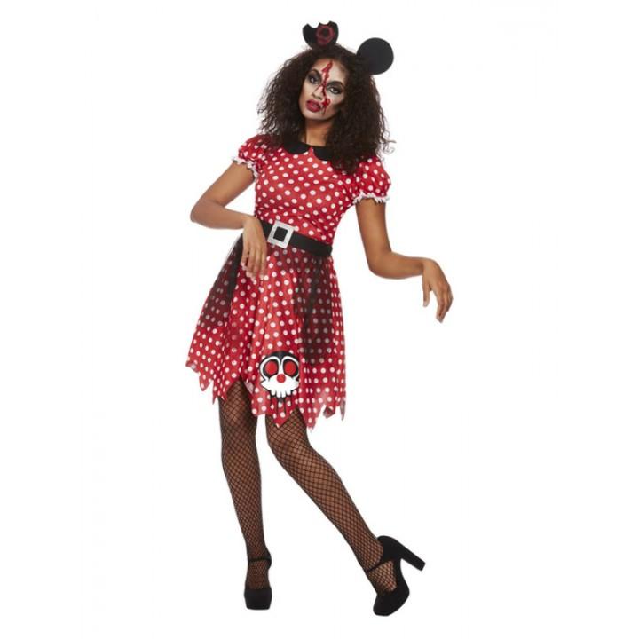 Déguisement Minnie Zombie Halloween