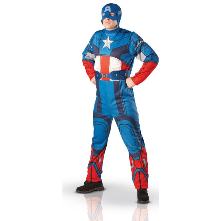Déguisement Captain America adulte
