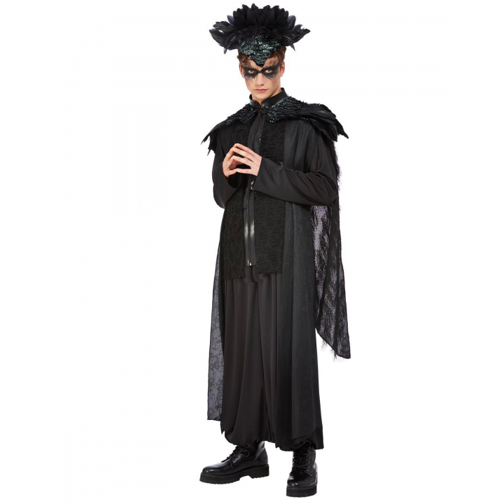 Déguisement corbeau adulte halloween