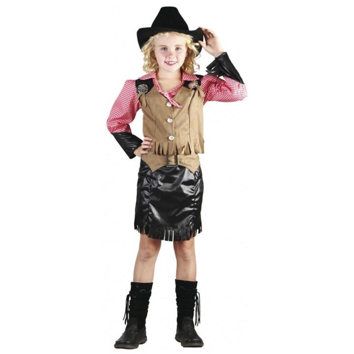 Déguisement de cowgirl enfant taille 10/12ans