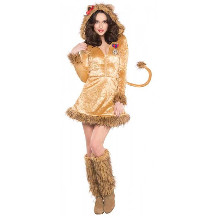 Femme Taille De 3840 Déguisement Lionne nX8k0wOP
