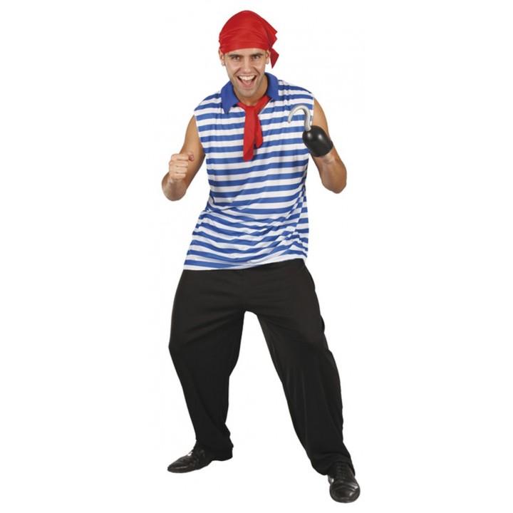 Déguisement de Pirate Redscarf M/L