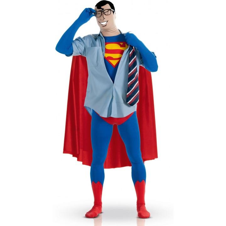 Déguisement de Superman seconde peau taille L