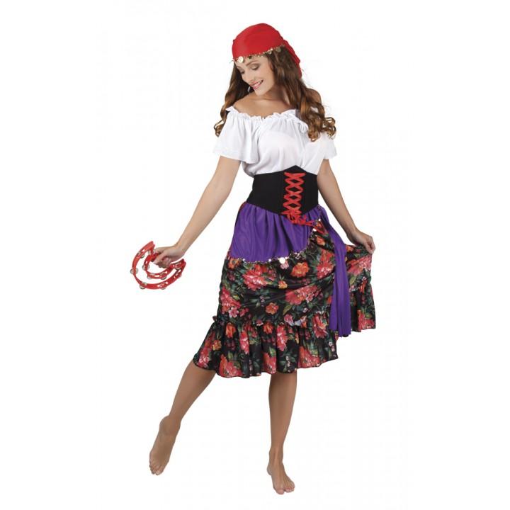 Déguisement Gypsy Rilana femme