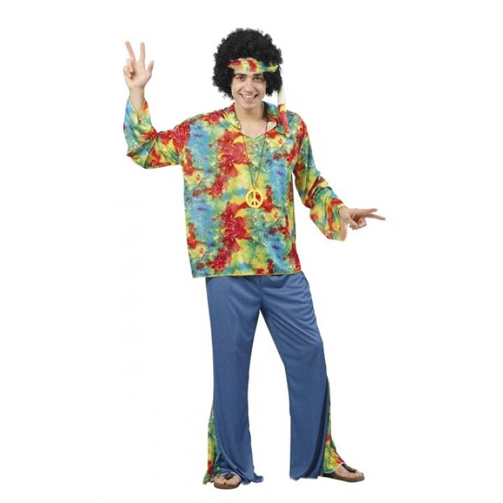 Déguisement hippie sunstar homme XL