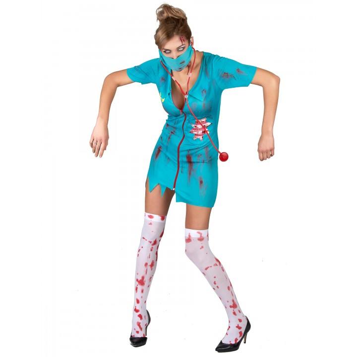 Déguisement infirmière zombie Halloween