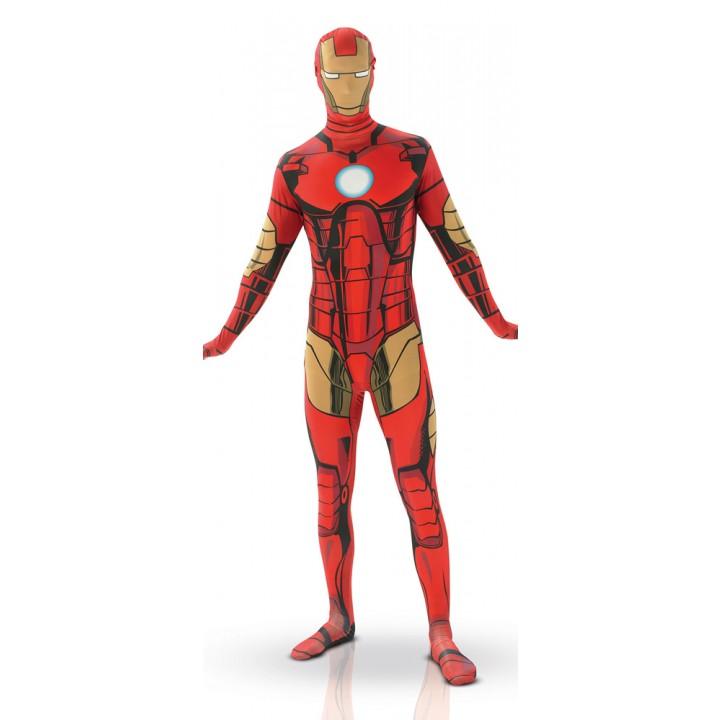 Déguisement Iron man seconde peau