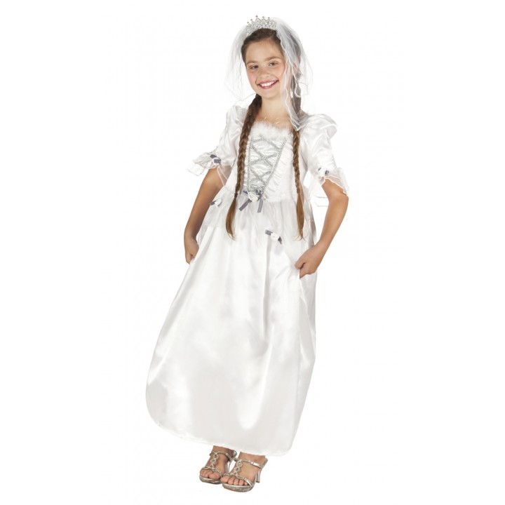 Déguisement Mariée fille blanche