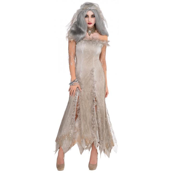 Déguisement Mariée zombie d'halloween