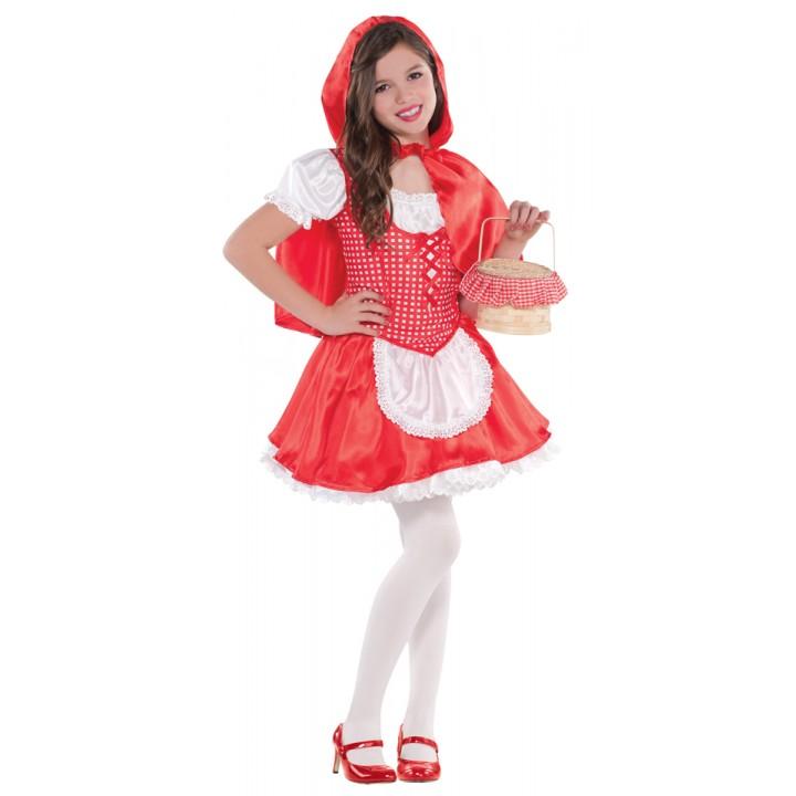 Déguisement Petit Chaperon Rouge fille  6/8 ans